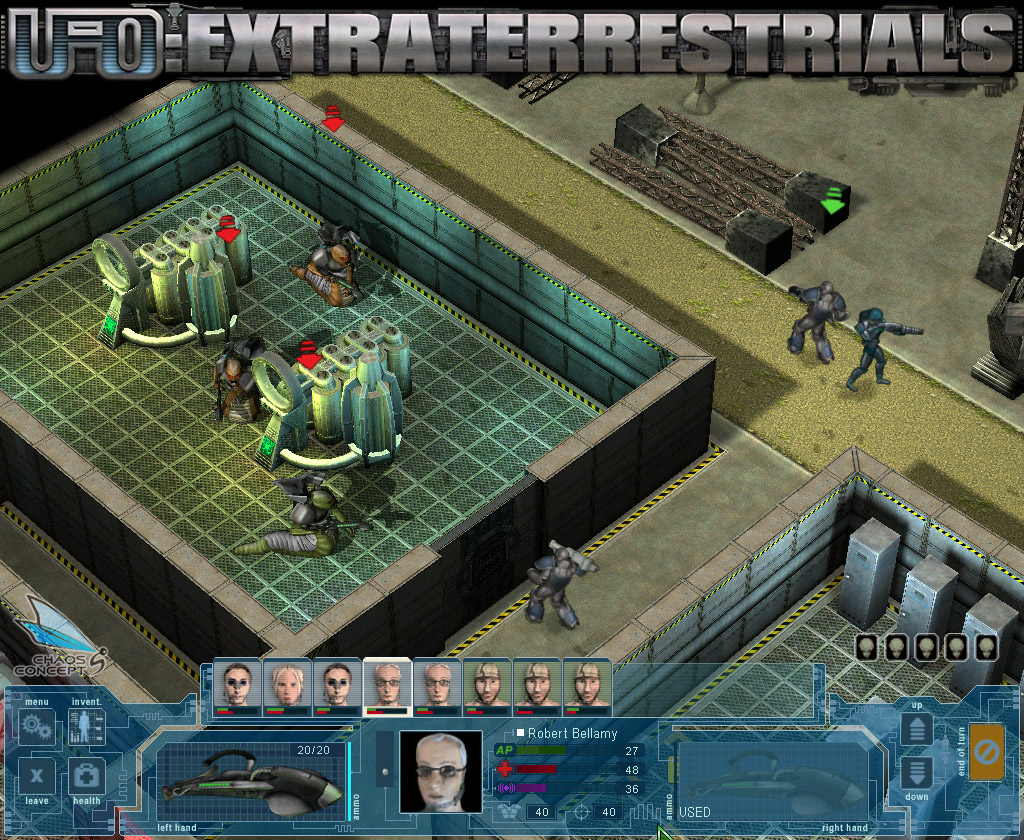UFO: Extraterrestrials Gold screenshot