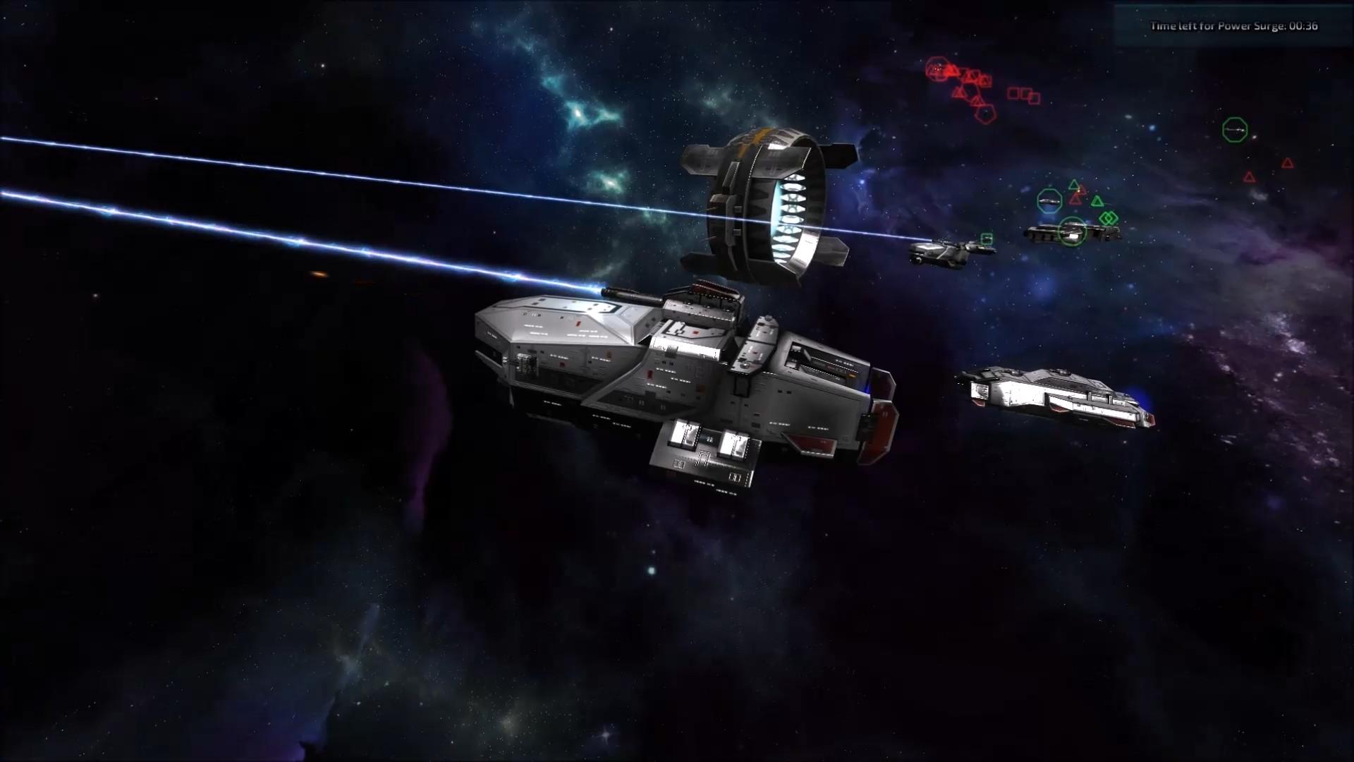 Nomad Fleet Gameplay 1