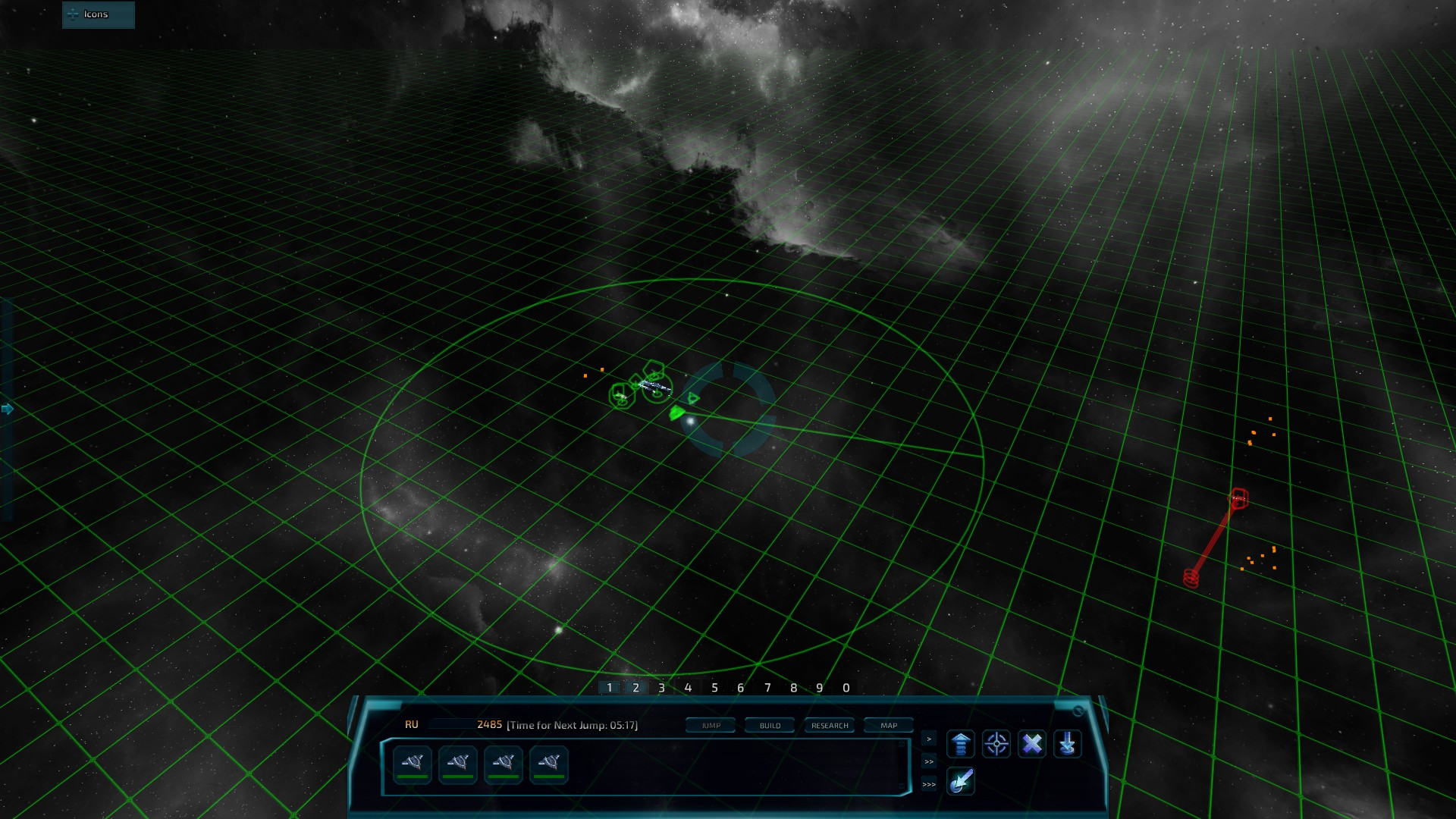 Nomad Fleet Gameplay 2