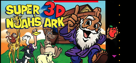 Super 3-D Noah's Ark game image