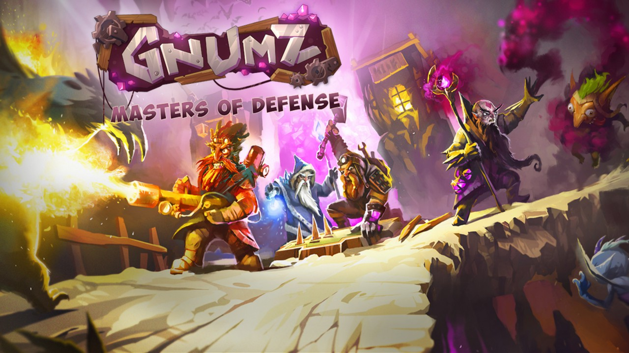Gnumz: Masters of Defense screenshot