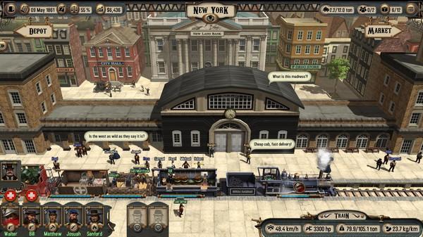 скачать игру Bounty Train - фото 10