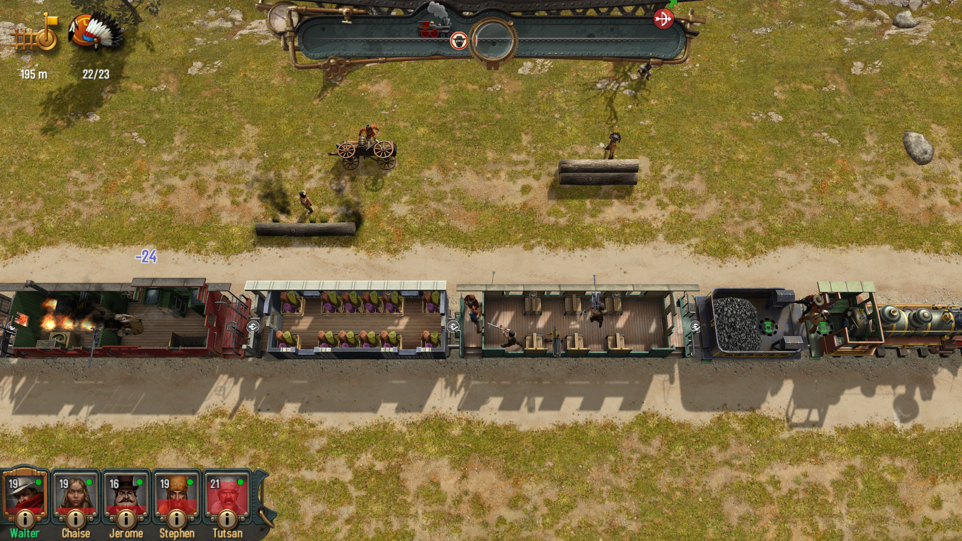 Bounty Train screenshot