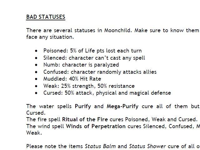 Moonchild - Deluxe Contents screenshot