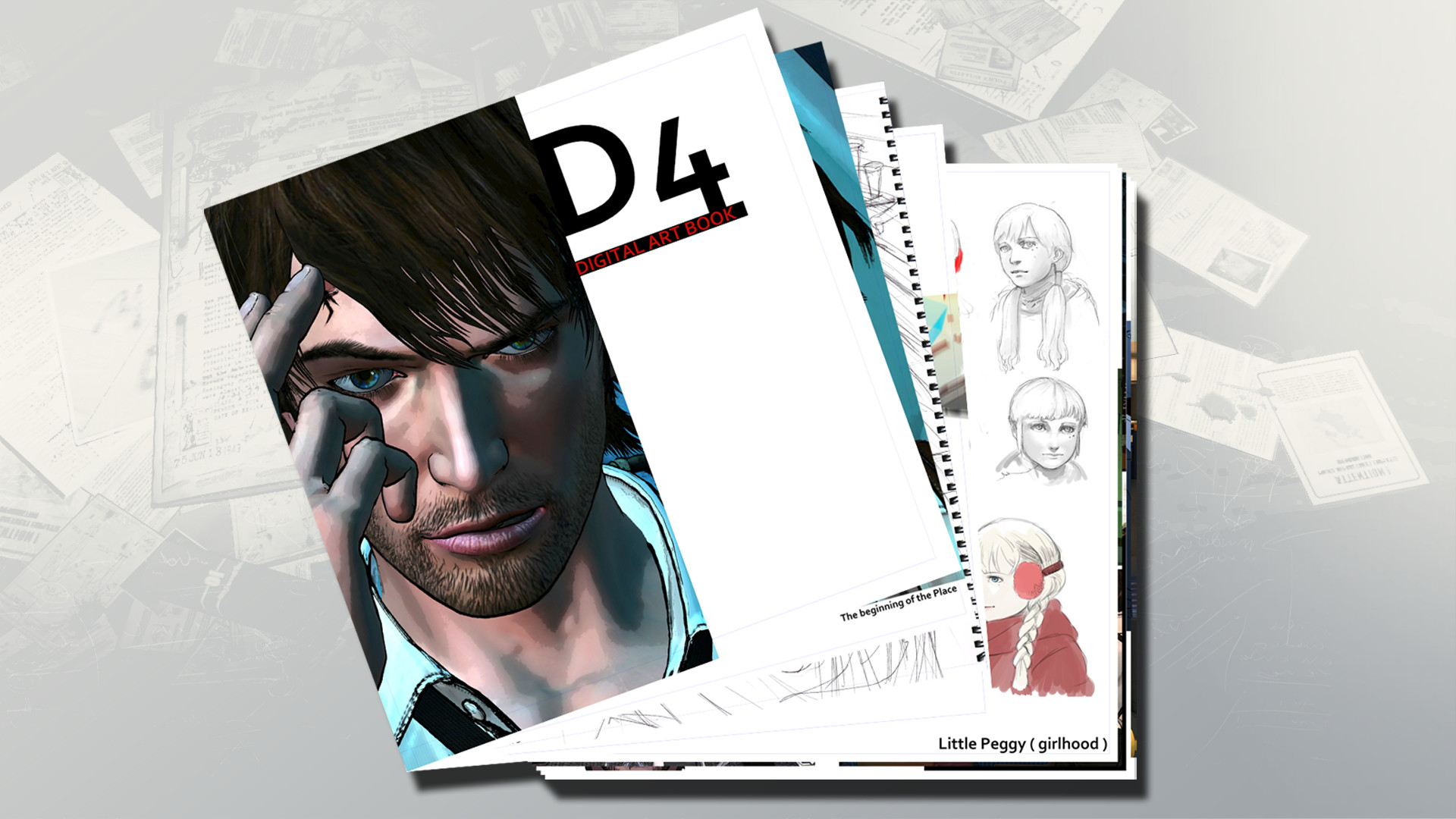 D4: Special Art Book screenshot