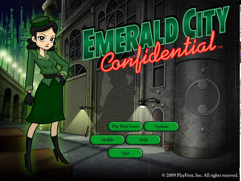 Emerald City Confidential screenshot