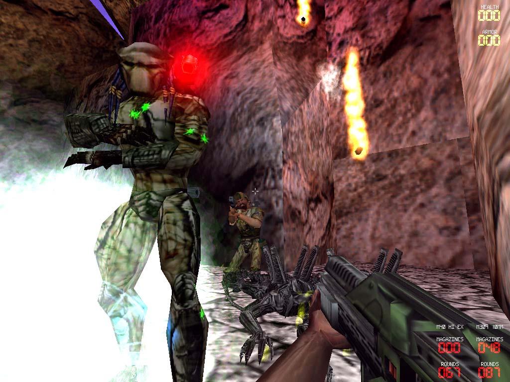 Aliens versus Predator Classic 2000 screenshot