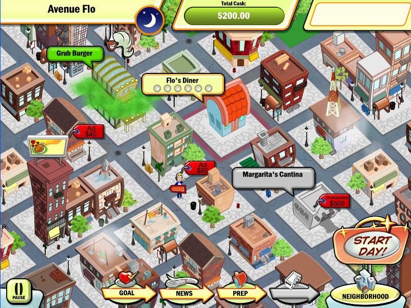 DinerTown Tycoon screenshot