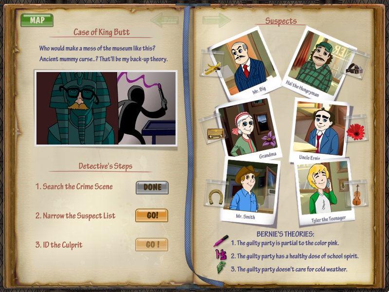 DinerTown Detective Agency screenshot