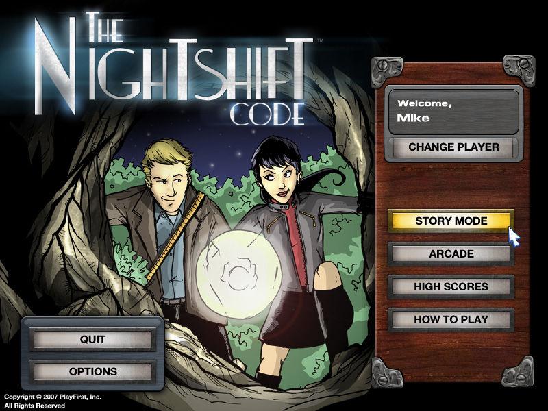 The Nightshift Code screenshot