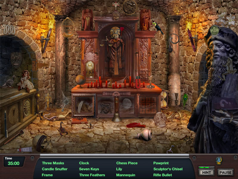 Nightshift Legacy: The Jaguar's Eye screenshot