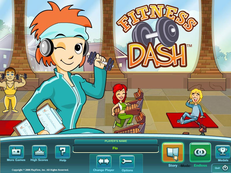 Fitness Dash screenshot