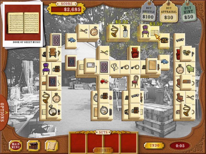 Mahjong Roadshow screenshot