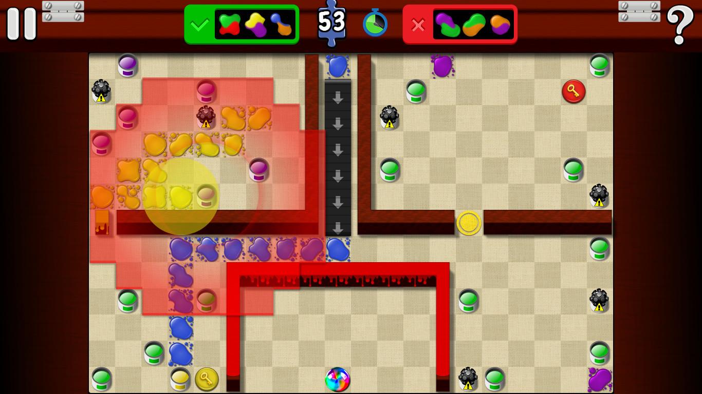Splotches screenshot