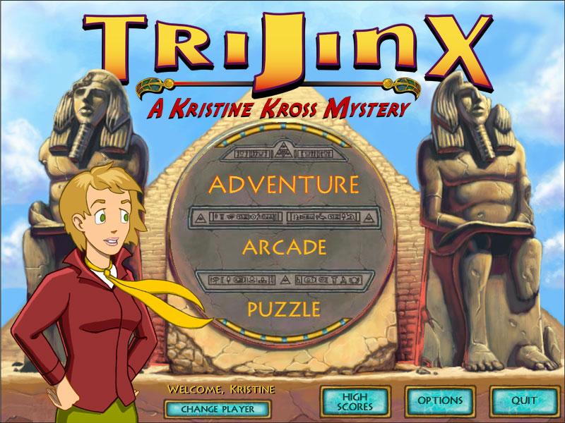 TriJinx: A Kristine Kross Mystery screenshot