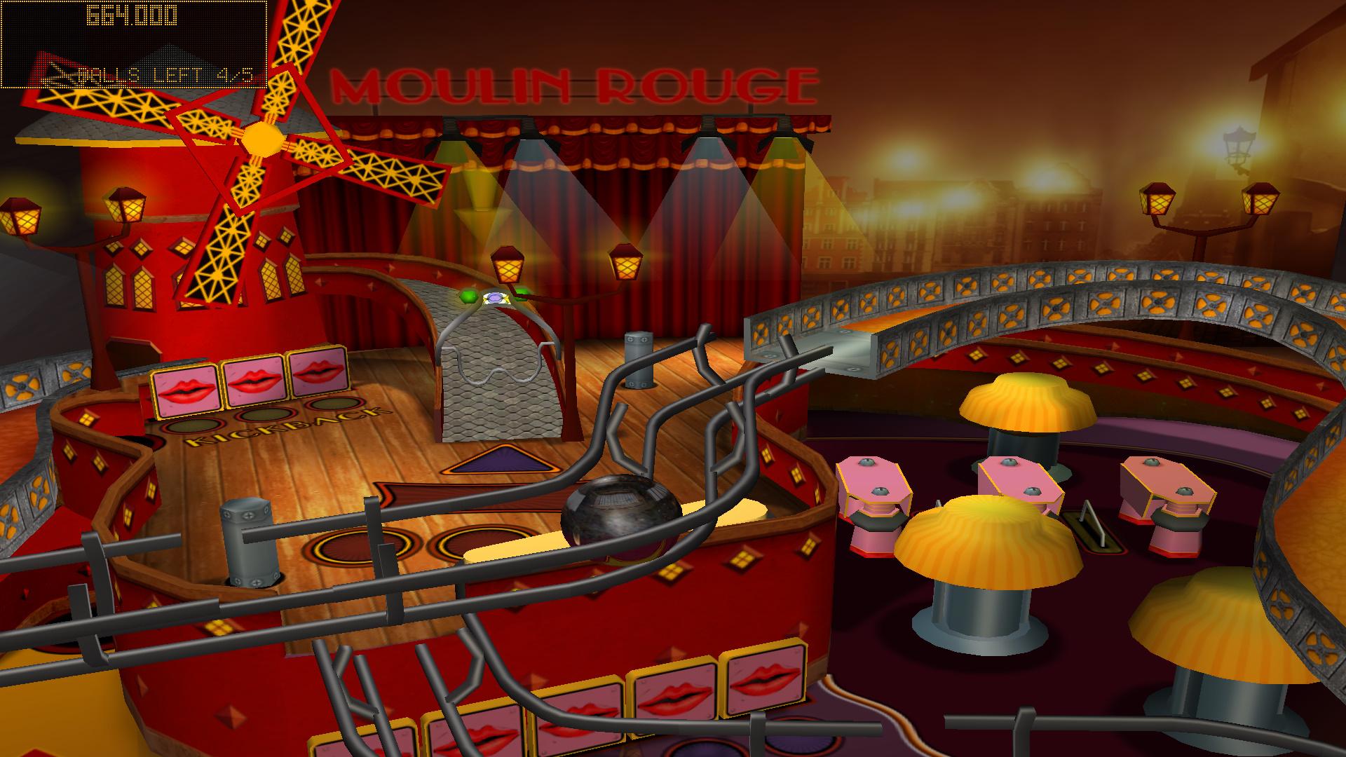 Hot Pinball Thrills screenshot