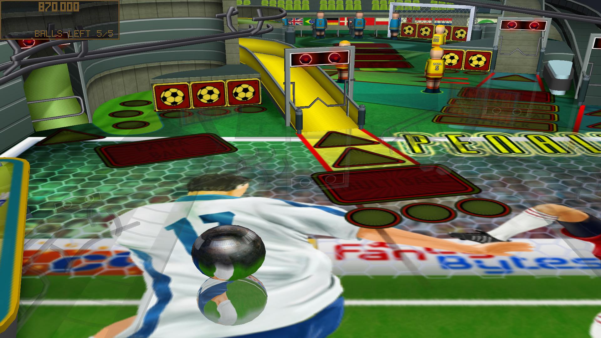 Soccer Pinball Thrills screenshot