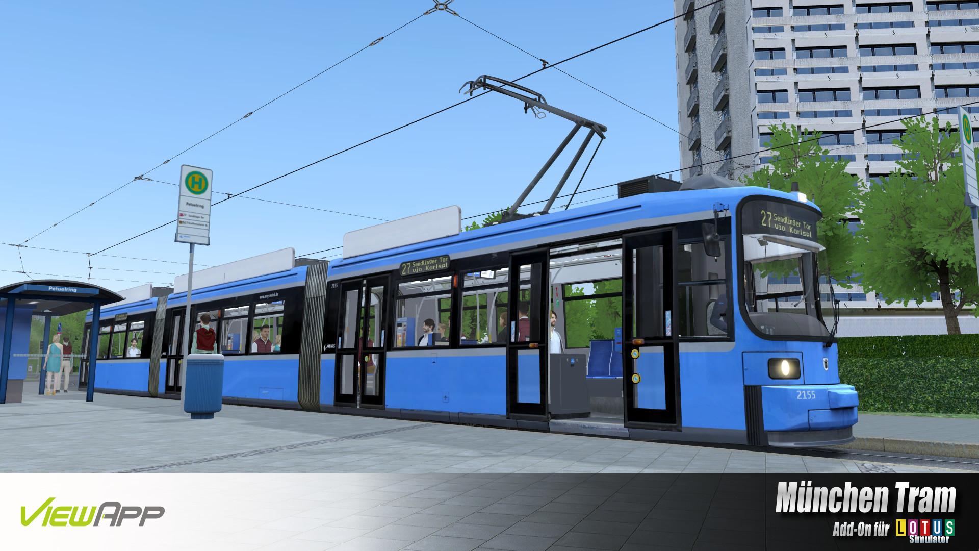 LOTUS-Simulator: München Tram screenshot