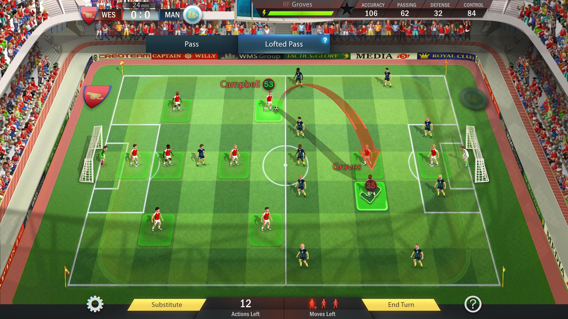 Football, Tactics & Glory screenshot