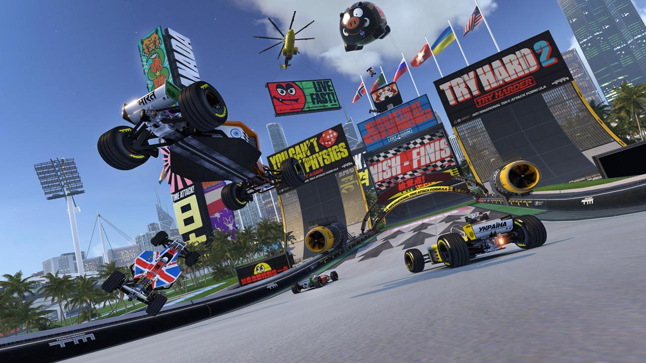 Trackmania Turbo screenshot