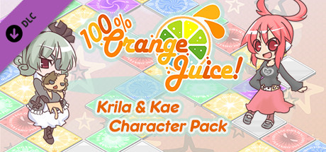 100% Orange Juice - Krila & Kae Character Pack