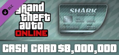 GTA V: Megalodon Shark Cash Card