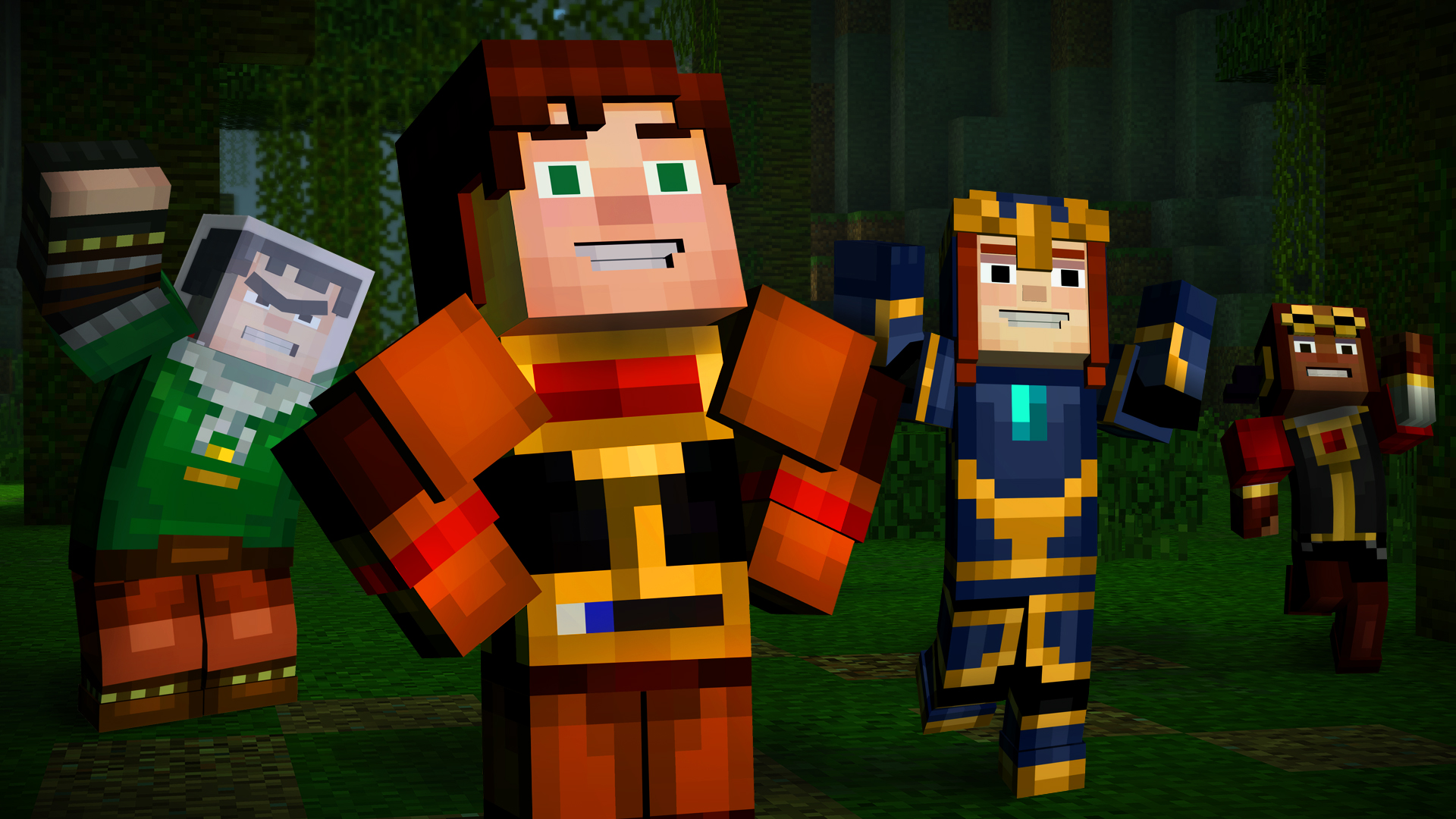 Minecraft: Story Mode - A Telltale Games Series on Steam for All Minecraft Characters  70ref