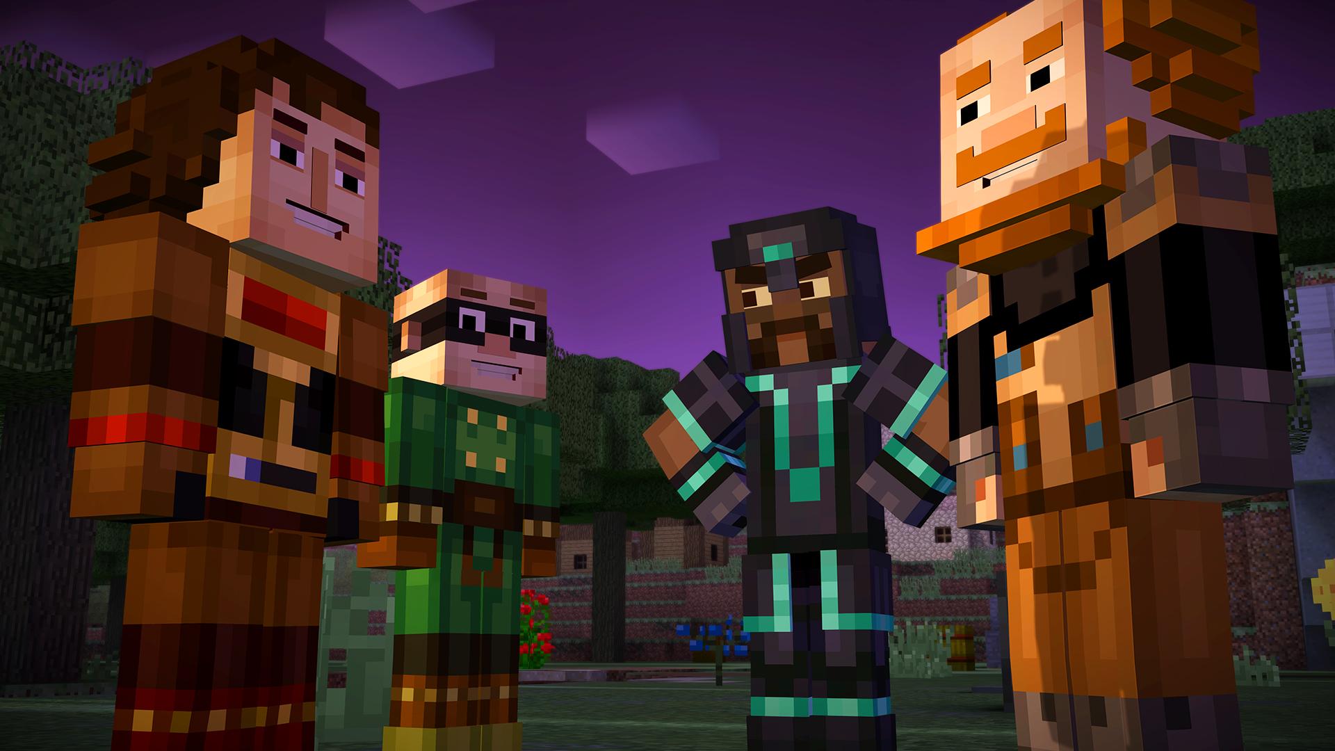 Minecraft: Story Mode Screenshot 1