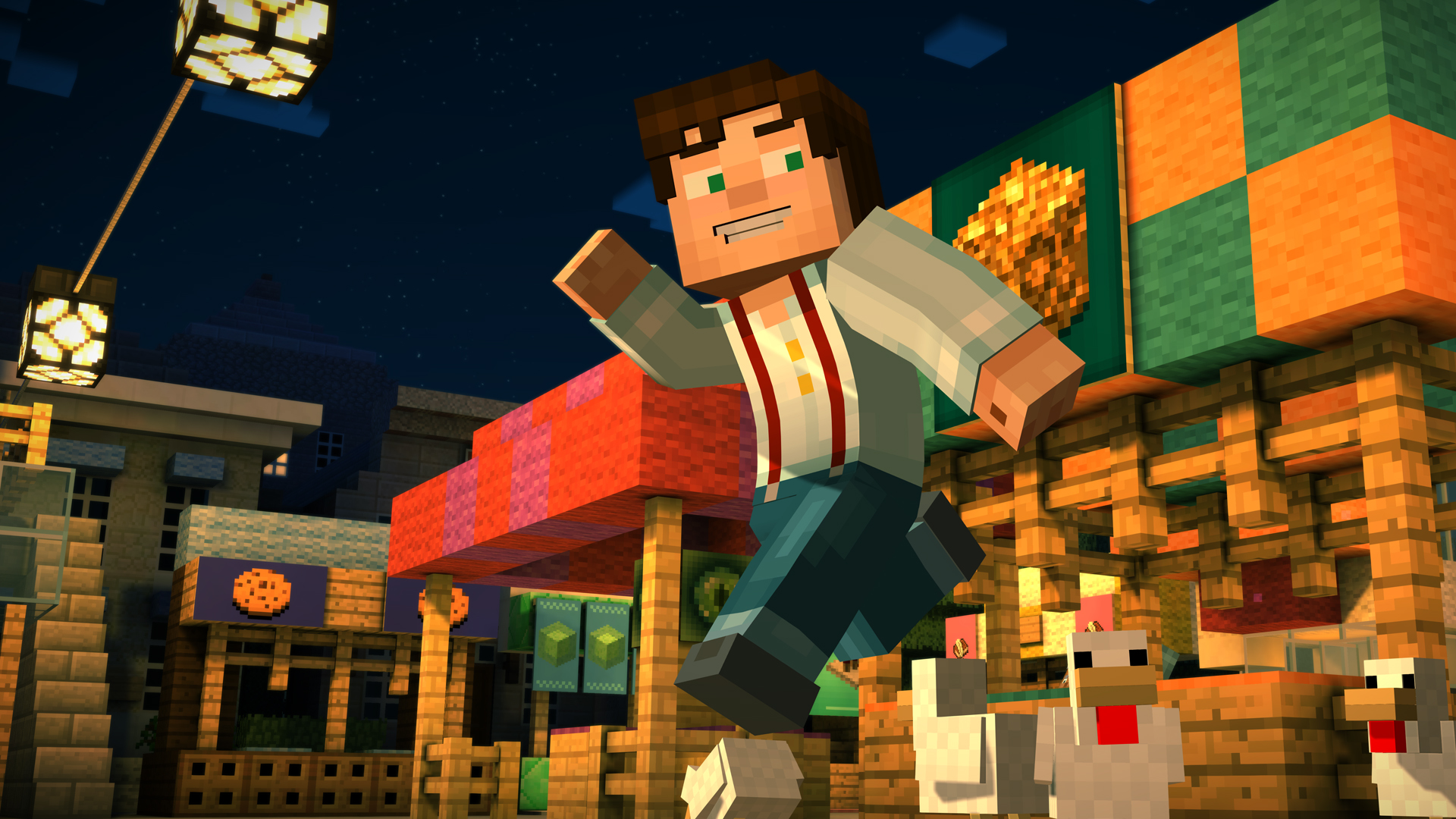 Minecraft: Story Mode Episode 1-2 - Assembly Required (2015) PC | Лицензия