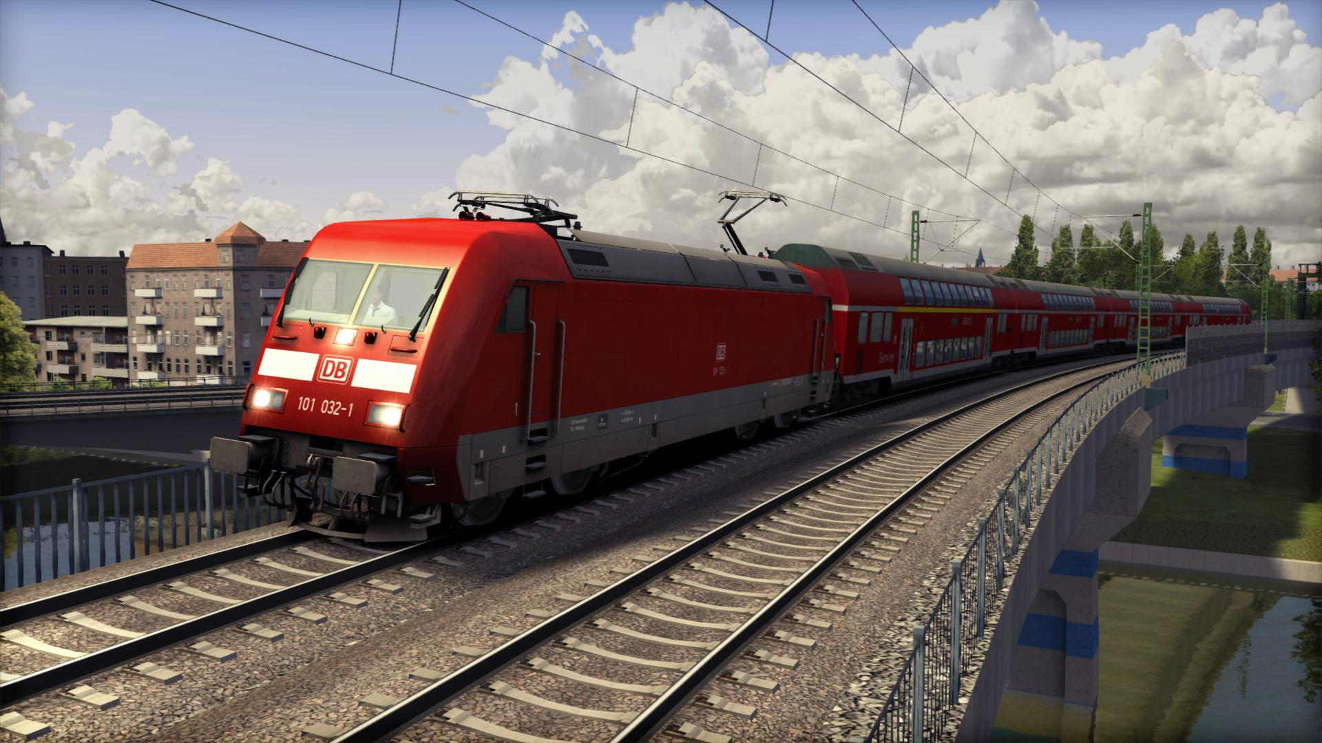 On n'a pas assez parlé de la Berlin - Leipzig, j'ai donc choisi cette ligne pour la photo de transition.