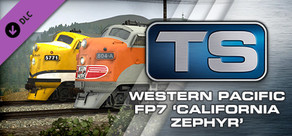 Train Simulator: Western Pacific FP7 'California Zephyr' Loco Add-On