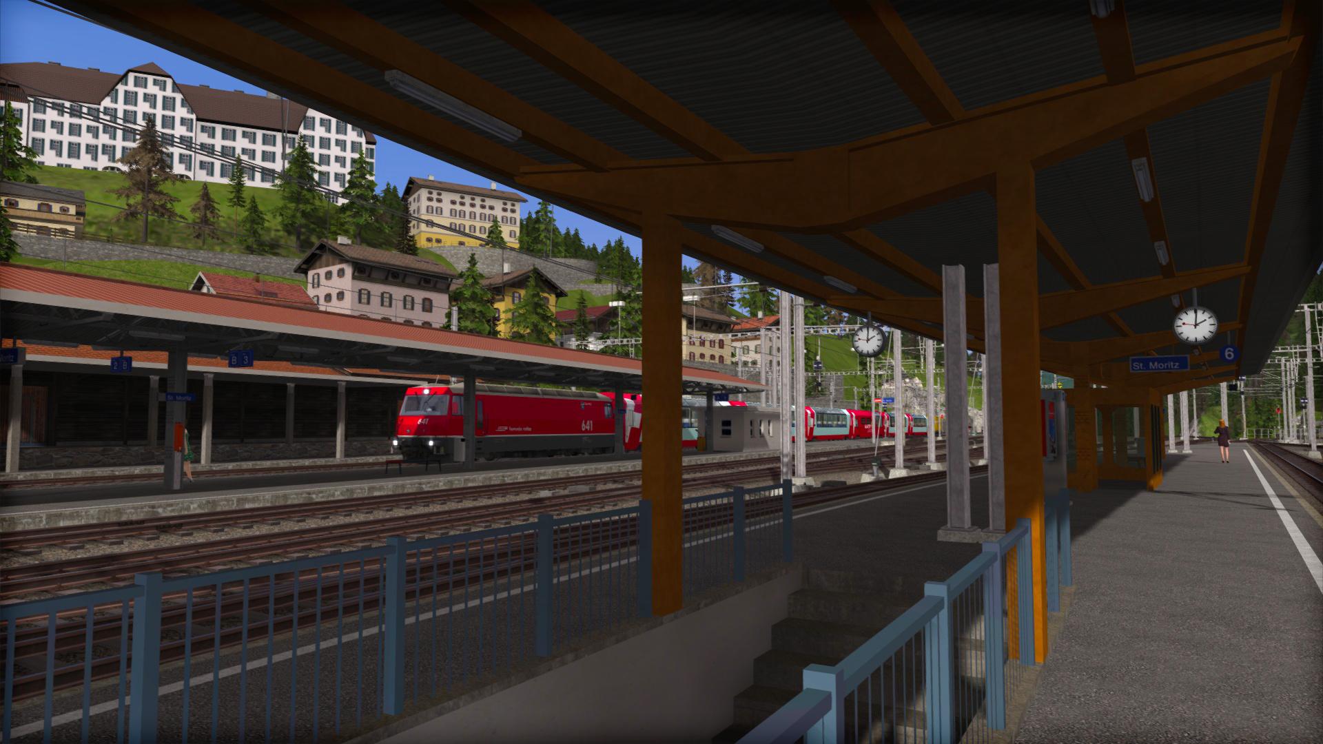 Train Simulator: Albula Line: St Moritz - Thusis Route Add-On screenshot