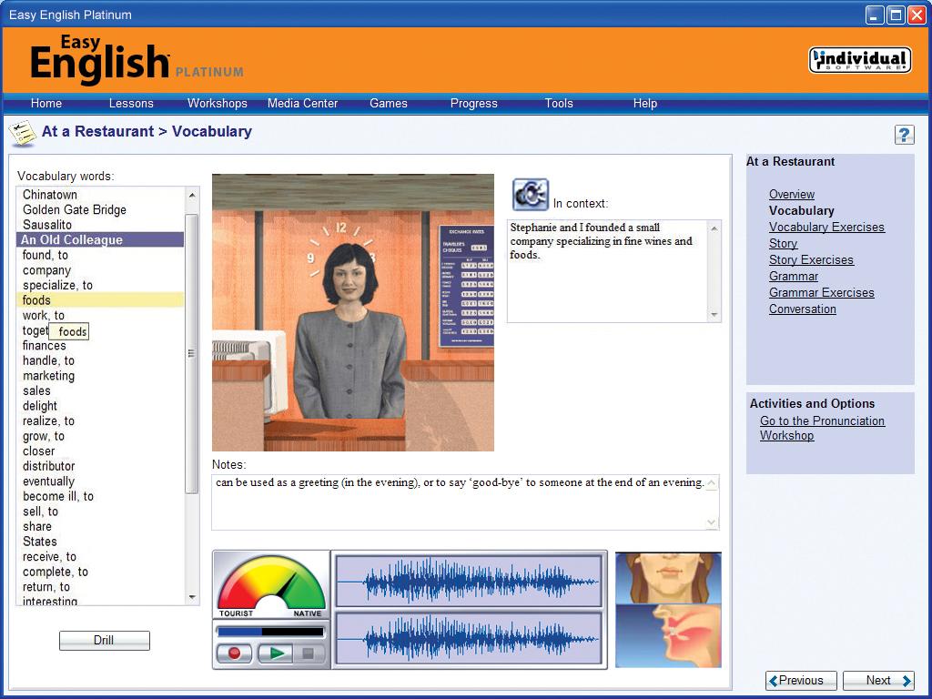 Easy English Platinum screenshot