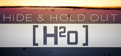 hide and hold out game logo