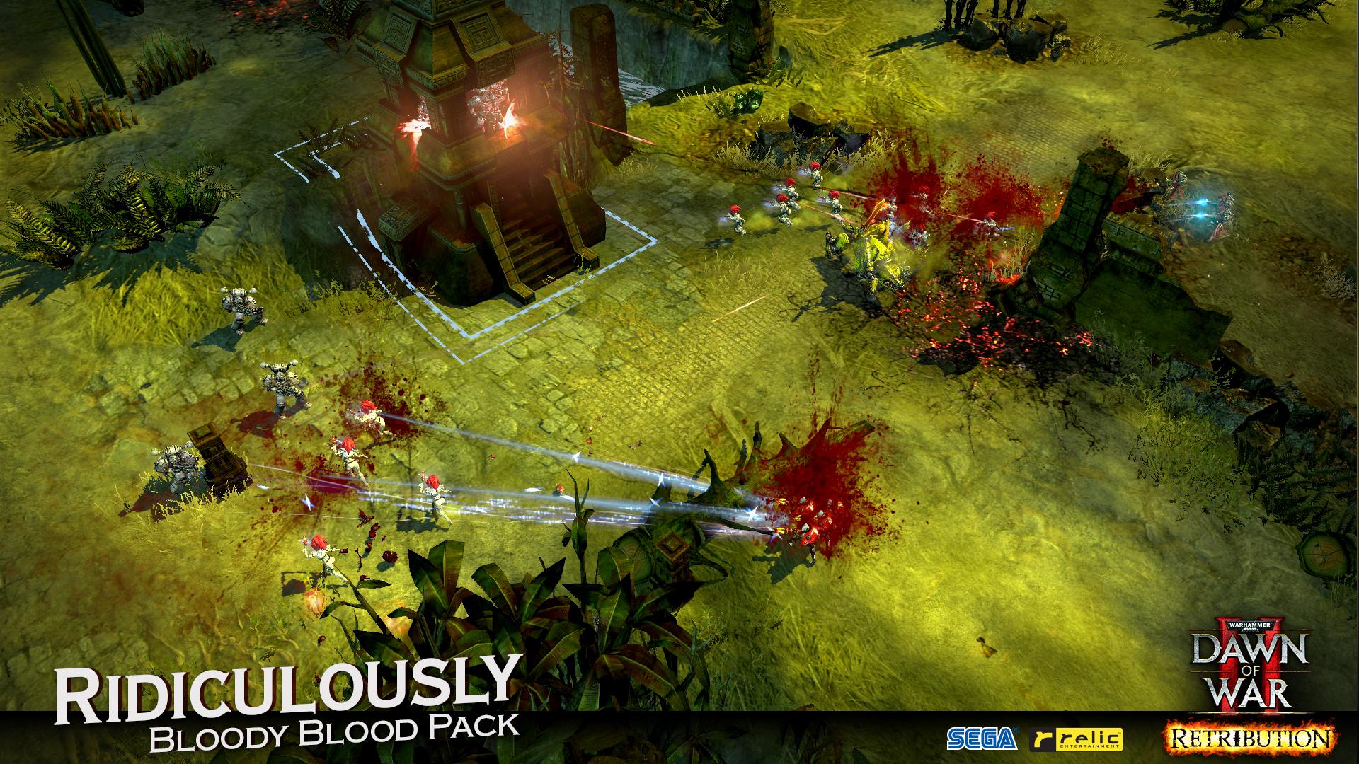 Warhammer 40,000: Dawn of War II - Retribution - Ridiculously Bloody Blood Pack screenshot