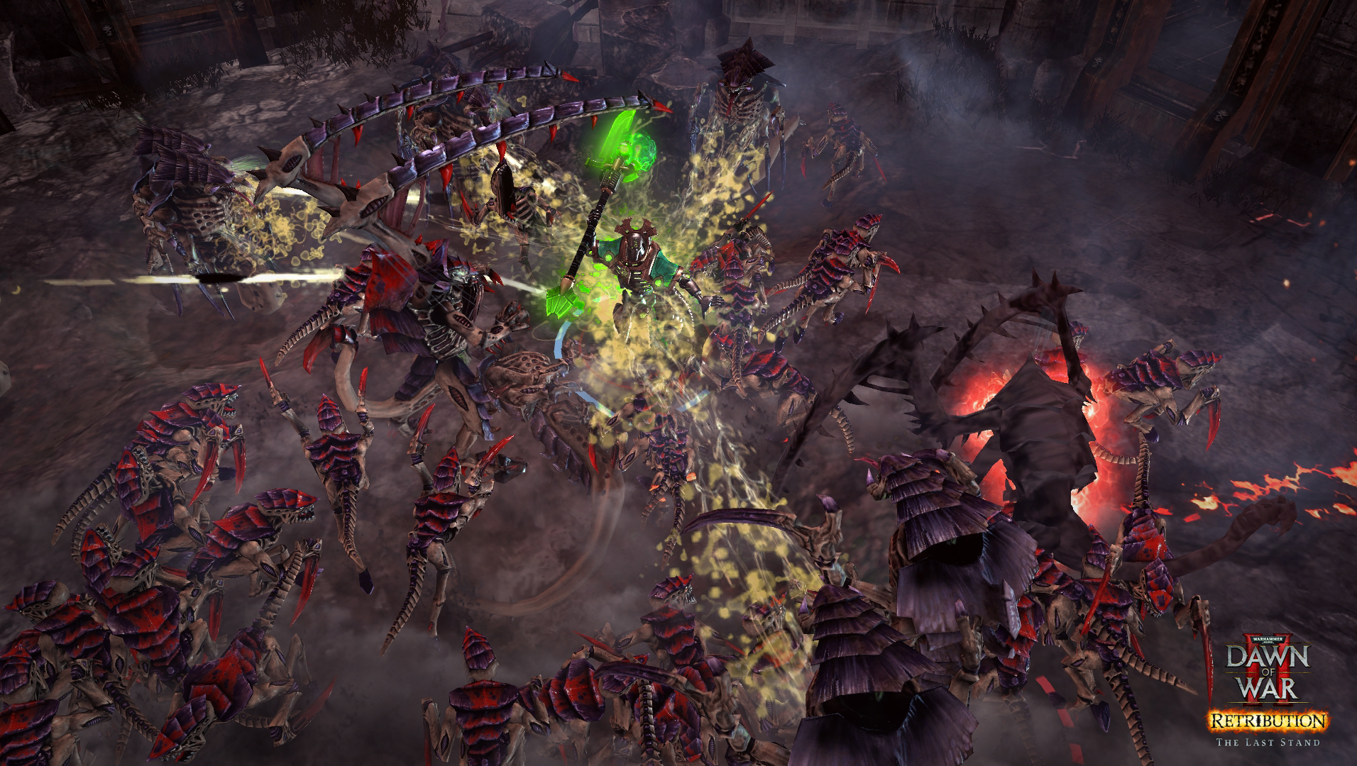 Warhammer 40,000: Dawn of War II - Retribution - The Last Stand Necron Overlord screenshot