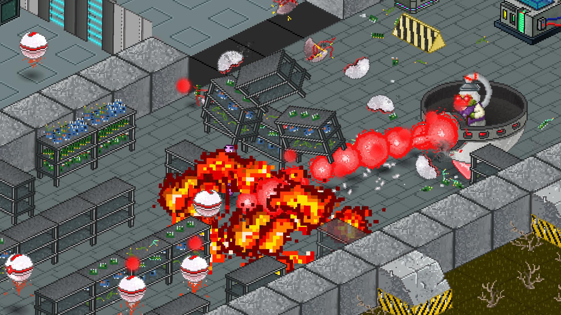 Patchman vs. Red Circles screenshot