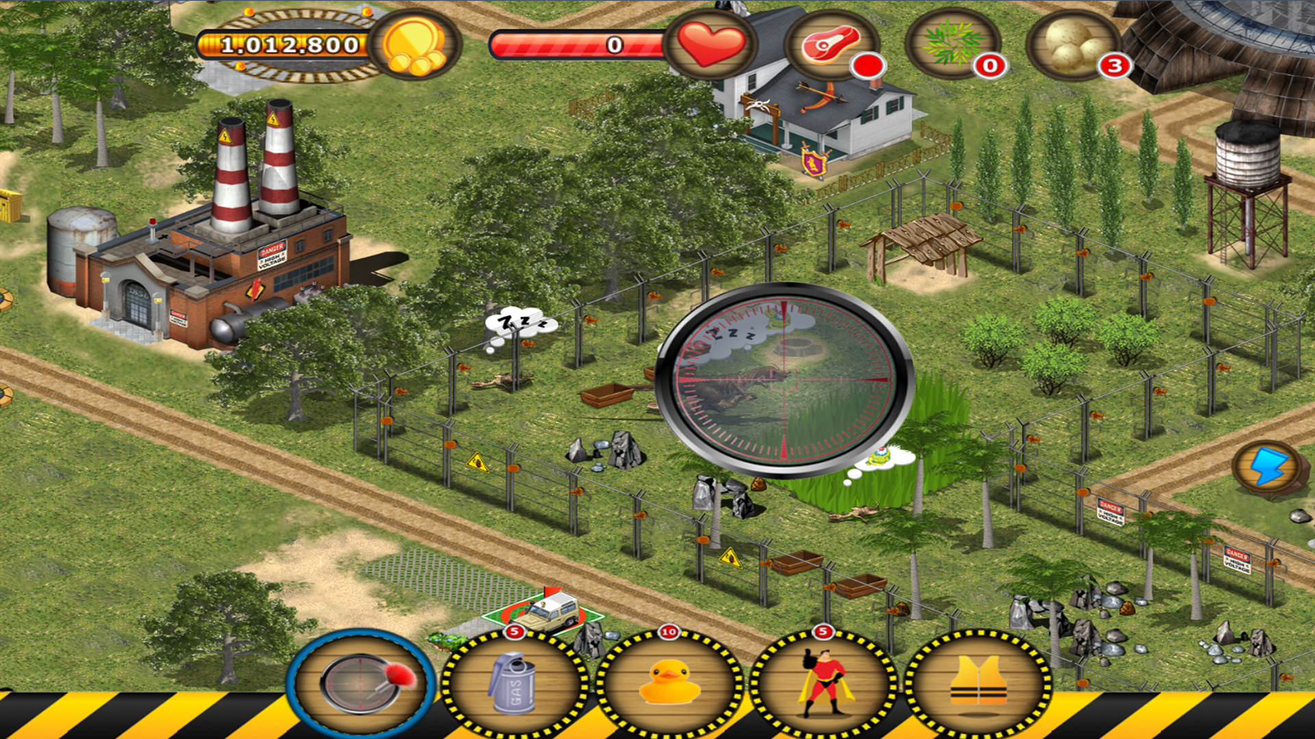 Jurassic Island: The Dinosaur Zoo screenshot