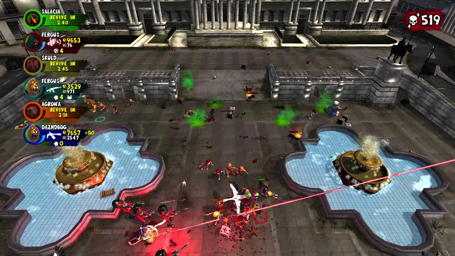 Nature's Zombie Apocalypse screenshot