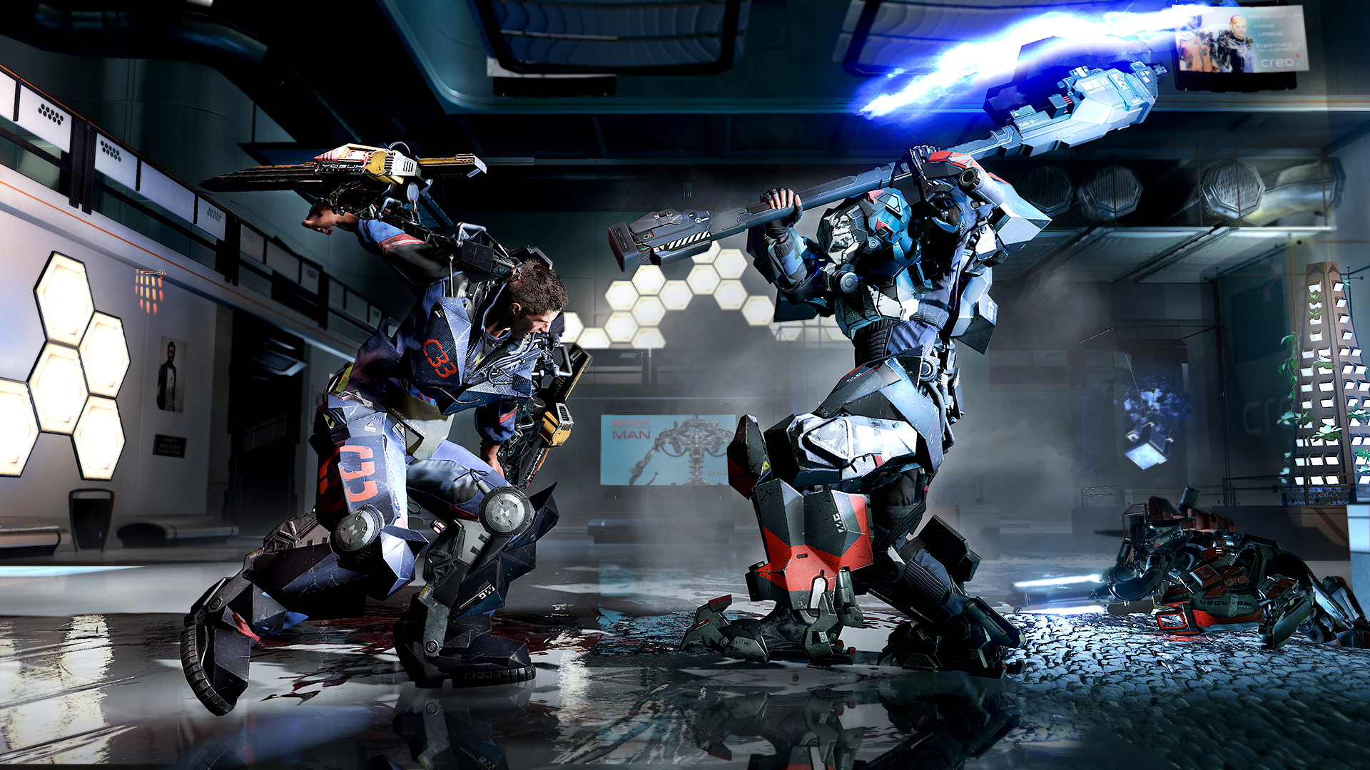 The Surge - A Walk in the Park (Focus Home Interactive) (RUS/ENG/MULTI8) [L]
