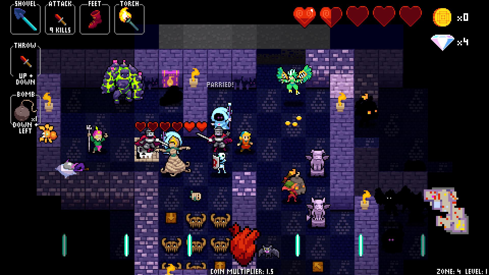 Crypt of the NecroDancer Extras screenshot