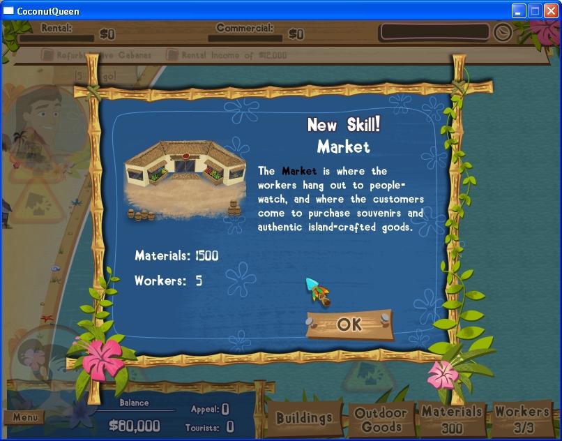 Coconut Queen screenshot