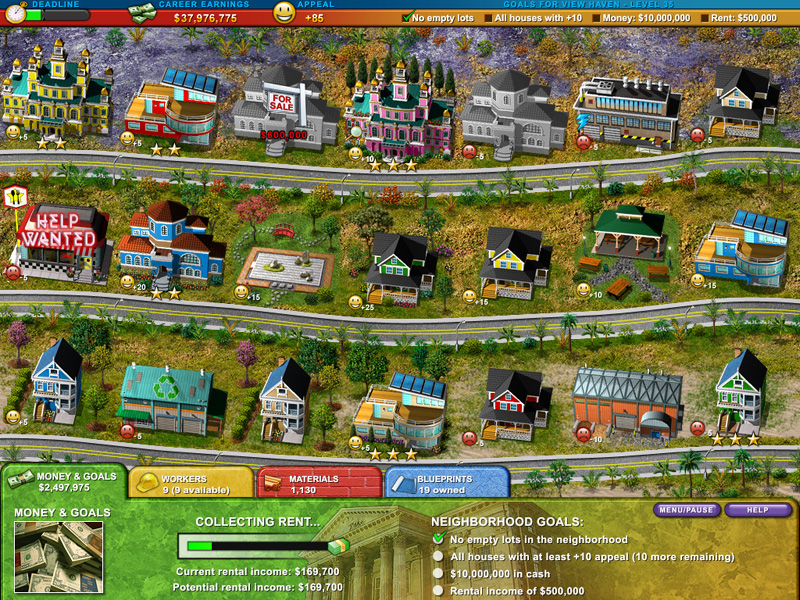 Build-A-Lot 2: Town of the Year screenshot