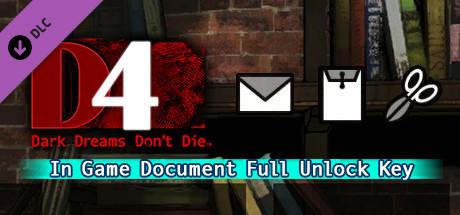 D4: In Game Document Full Unlock Key