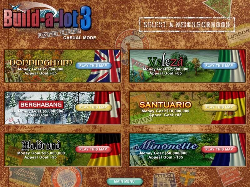 Build-A-Lot 3: Passport to Europe screenshot