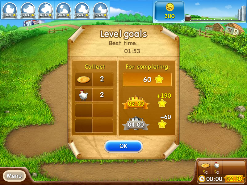 Farm Frenzy 2 screenshot