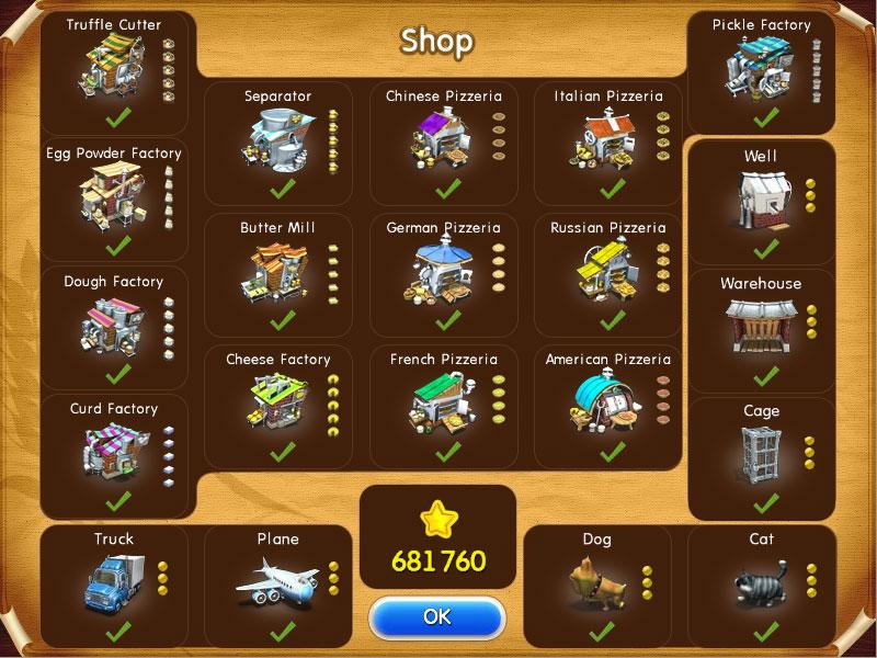 Farm Frenzy: Pizza Party screenshot