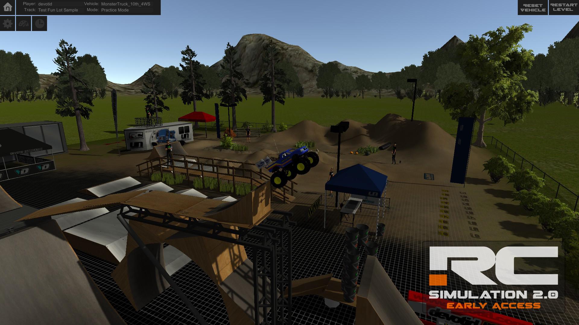 RC Simulation 2.0 screenshot