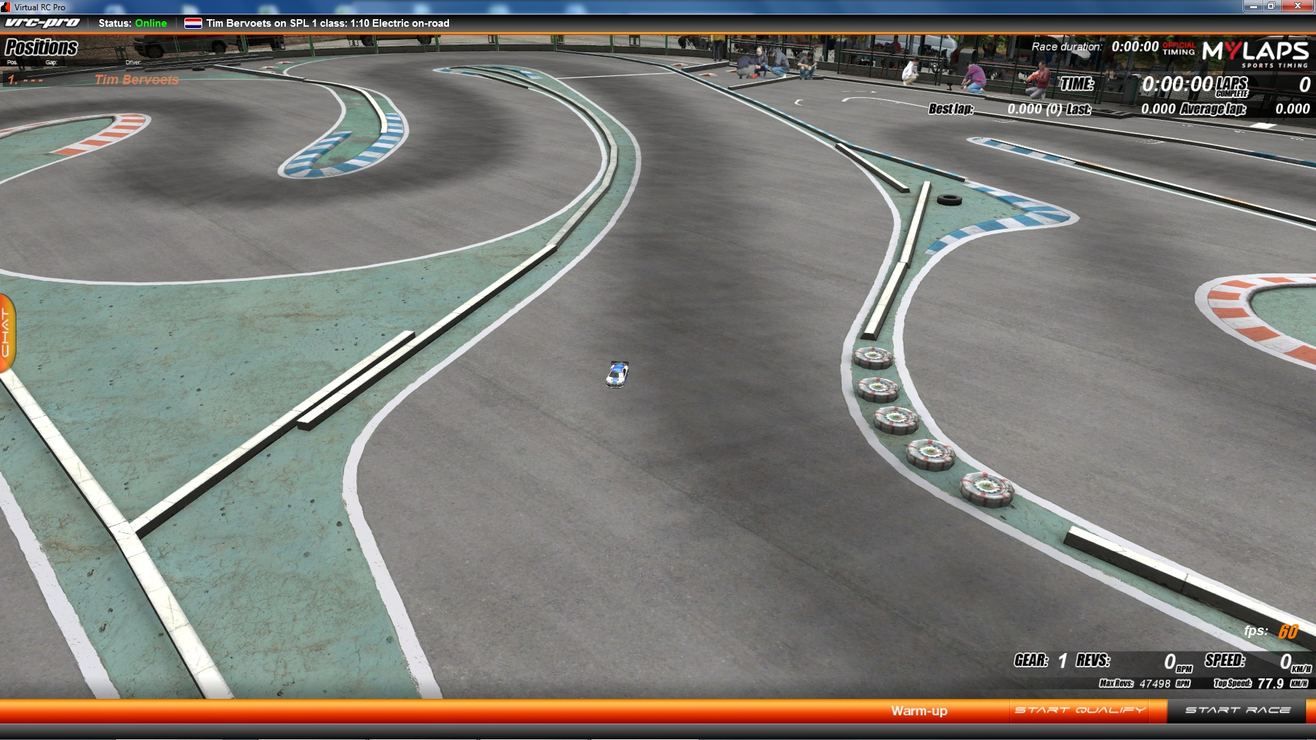 VRC PRO Deluxe Asia On-road tracks screenshot