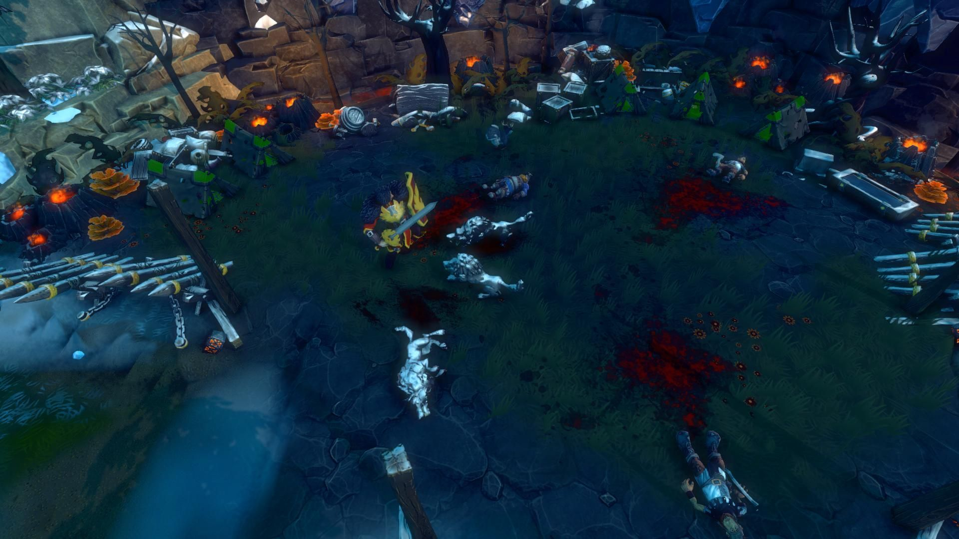 Dungeons 2 - A Game of Winter screenshot
